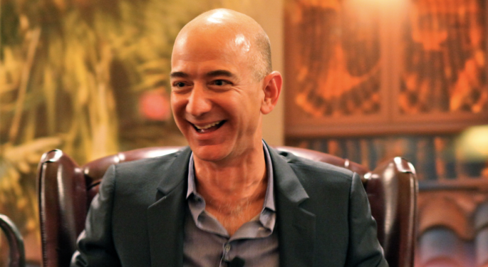 Jeff Bezos Is The First Person Worth $200B Thanks To Amazon Stock's Run