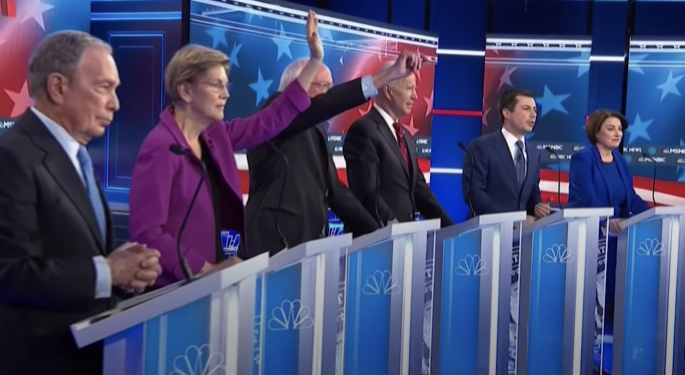 Nevada Democratic Debate: Bloomberg On Shaky Ground In Fiery Political Battle