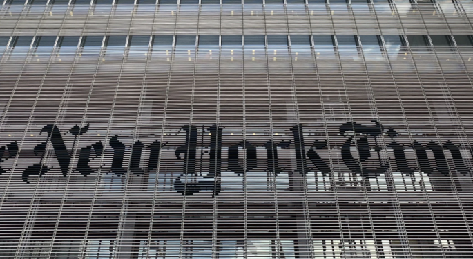 Trump Campaign Sues New York Times, Accuses It Of Extreme Bias