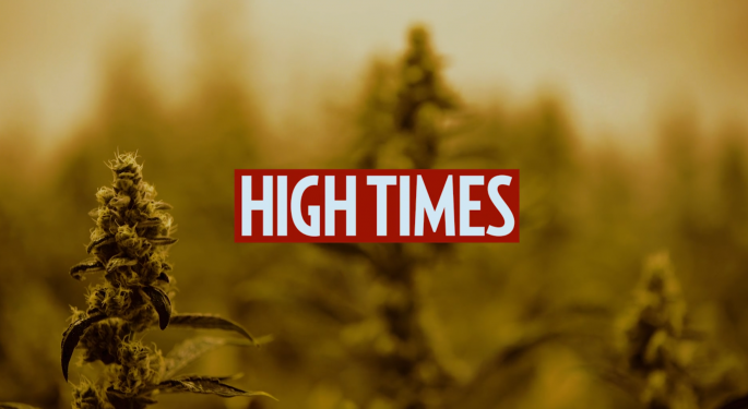 High Times Agrees To Acquire California-Based Delivery Service