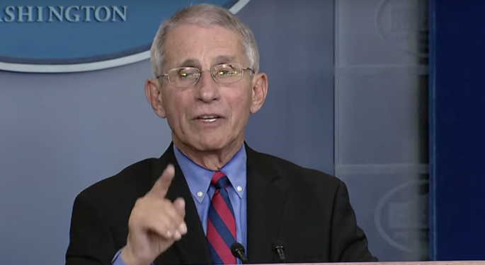 Moderna Coronavirus Vaccine Clinical Trials Are 'On Track,'  White House Task Force's Fauci Says