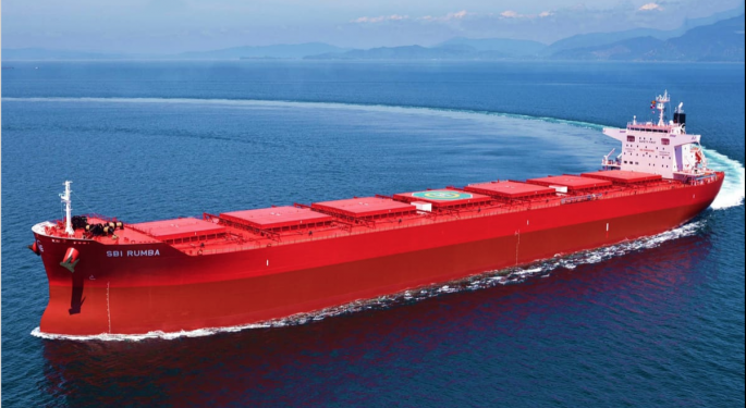 Capesize Shipping Rates Plummet 21%