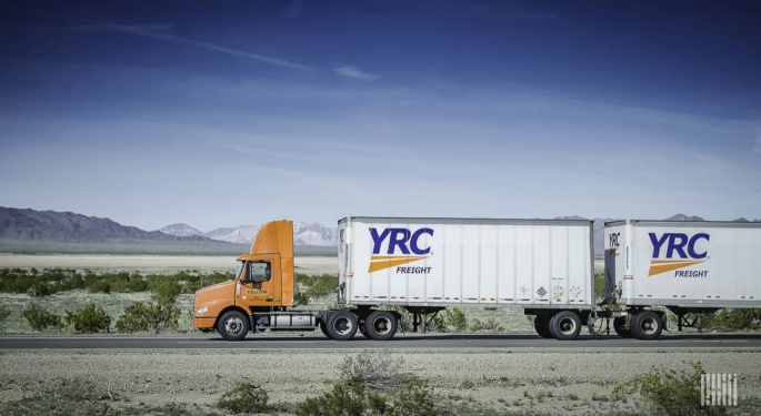 YRC Management Avoids Questions Following Earnings Beat
