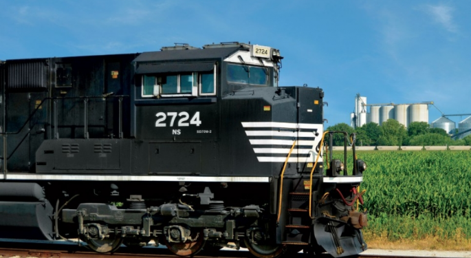 Norfolk Southern Shuffles Departments