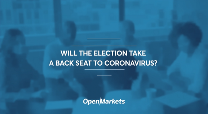 Will The Election Take A Backseat To Coronavirus?