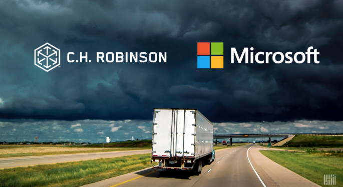 C.H. Robinson, Microsoft Partner To Boost Supply Chain Digitization