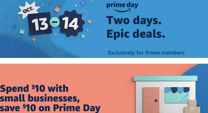 Amazon Confirms Prime Day Coming Oct. 13, To Focus On 'Small Businesses'