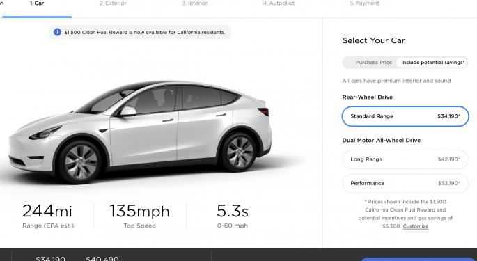 Tesla Launches Highly-Anticipated Standard Range RWD Model Y: What You Need To Know