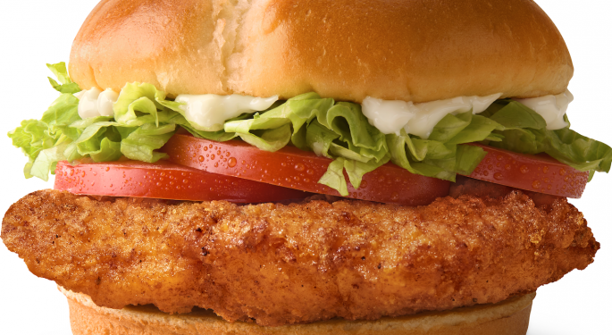 Here's How To Get An Early Taste Of McDonald's New Crispy Chicken Sandwich