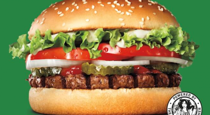 Burger King UK's Menu To Be Half Plant-Based Food By 2031