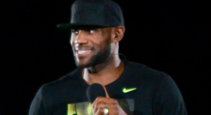 LeBron James Teams With PepsiCo To Launch 'A New Kind' Of Energy Drink