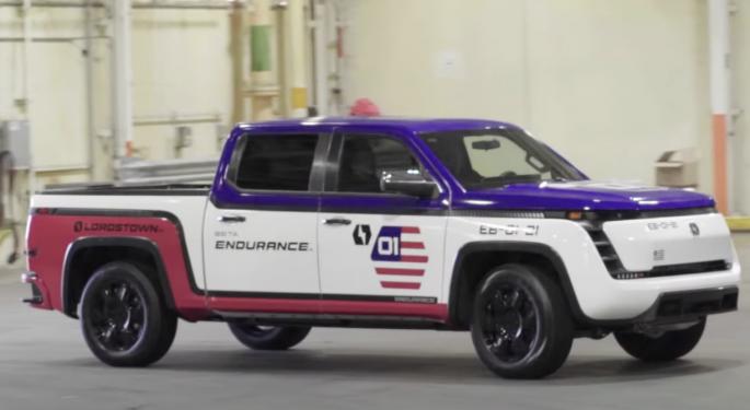 Lordstown Motors Unveils Endurance Pickup Beta Versions