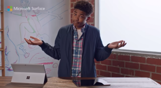 Microsoft Digs At Apple's iPad Pro Again, Promotes Surface Pro 7 As 'Still The Better Choice'