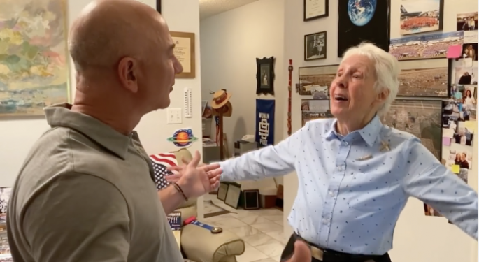 What You Should Know About Wally Funk — The 82-Year-Old Woman Flying To Space Alongside Jeff Bezos