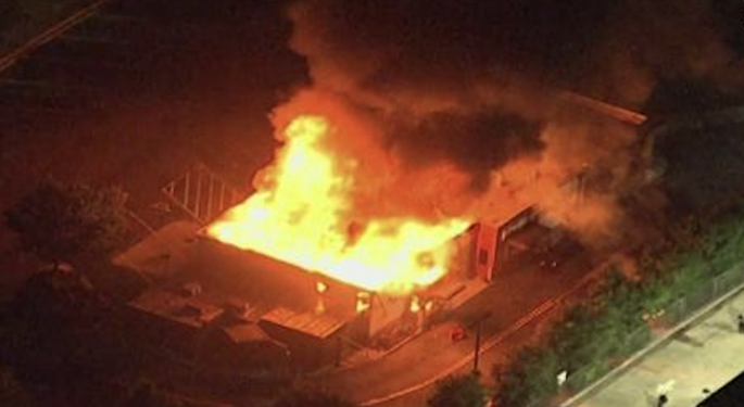 Wendy's Restaurant Set On Fire In Atlanta After African American Man Killed By Police At Drive-Thru