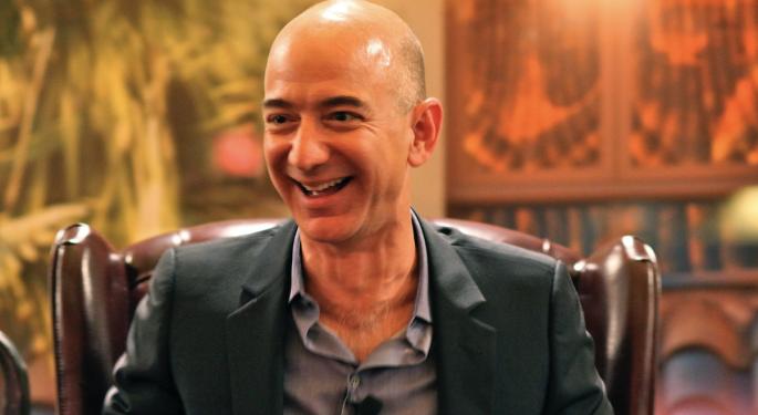 Amazon CEO Jeff Bezos's Net Worth Tops Pre-Divorce Height: Bloomberg Index