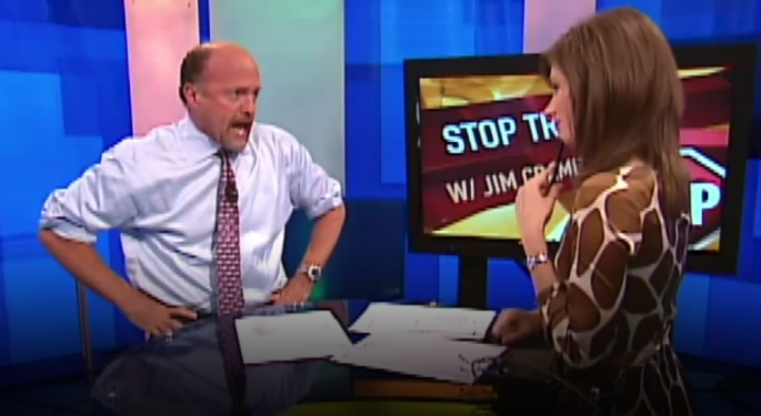 This Day In Market History: Jim Cramer's 'They Know Nothing!' Rant