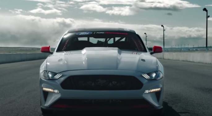 Ford Shows Off Impressive All-Electric Mustang Cobra Jet 1400 Prototype In Video