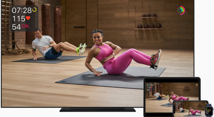 Is Apple Giving Peloton A Run For Its Money With Fitness+ Launch?