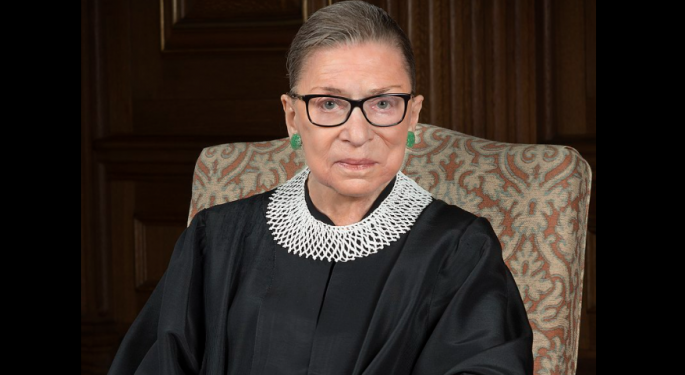 Ruth Bader Ginsburg, A Champion For Women As Supreme Court Justice, Dies At 87
