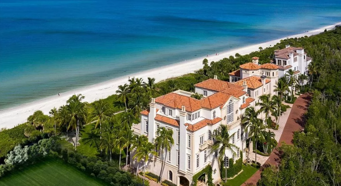 Check Out This Mediterranean Style Gulf Coast Castle For $19.9M