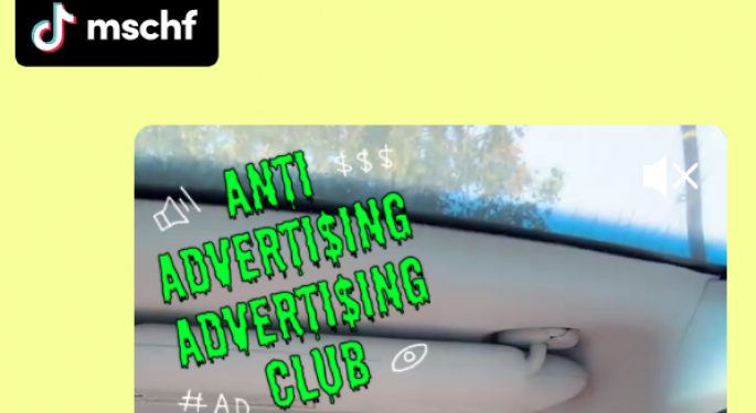 Latest MSCHF Video Stunt Encourages TikTok Users To Trash Musk, Amazon And More