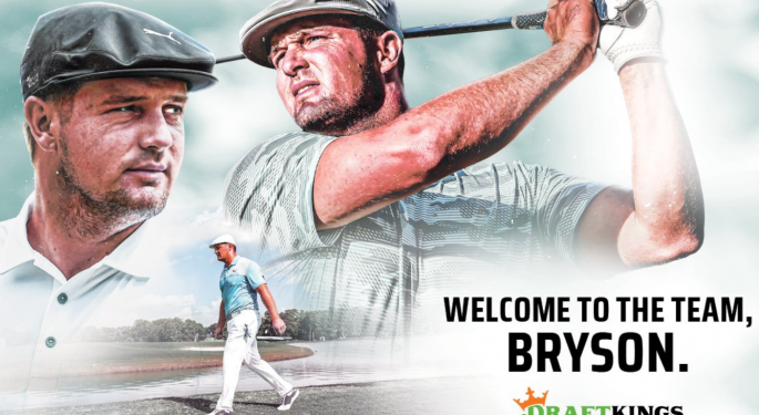 DraftKings Signs Exclusive Deal With Bryson DeChambeau Ahead Of Masters