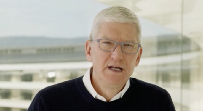 Apple's Tim Cook On Taking Down Parler: 'We're always trying to do the right thing'