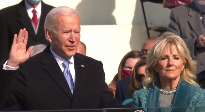 Joe Biden Addresses America On Inauguration Day: 'We Must End This Uncivil War'