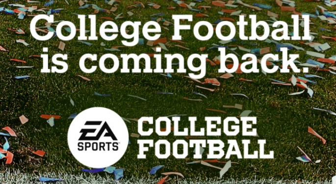 EA Announces Return Of Long Sought-After College Football Video Game