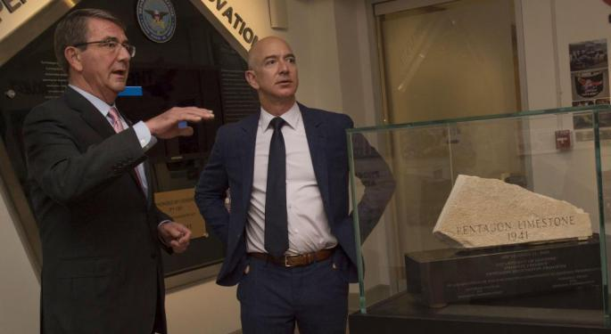 Jeff Bezos Might Be Targeting NFL's Washington Football Team: Report