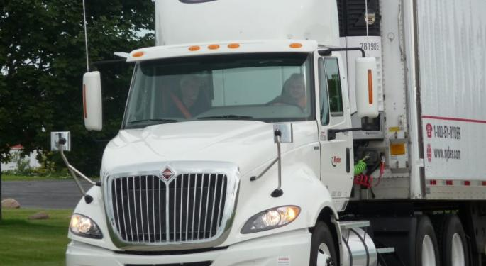 Ryder Grows Revenue But Records Loss On Lower Used Truck Prices
