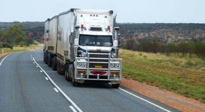 Knight Transportation Wins A New Bull, Deutsche Bank