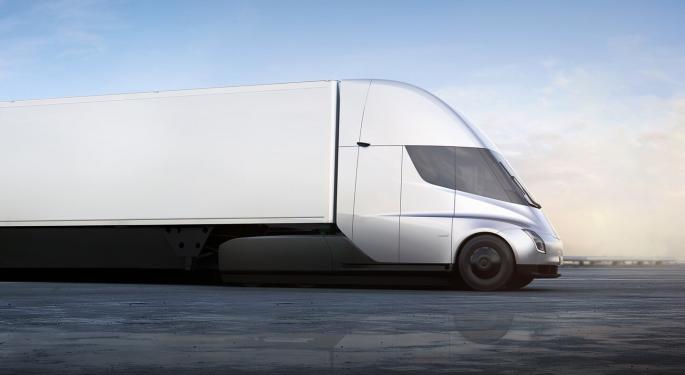 Tesla Gets Order For 150 Semi Trucks From Canadian Company As It Prepares For 'Volume Production'