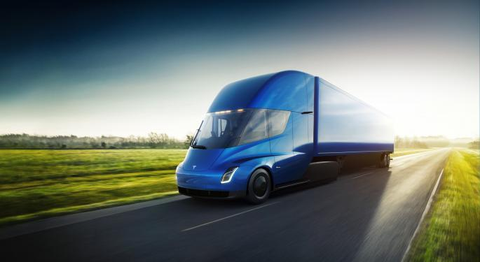 Musk Says It's Time To Ramp Production Of Tesla Semi: Report