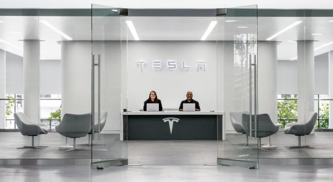 Tesla's Stock Continues Hot Streak With New Record High