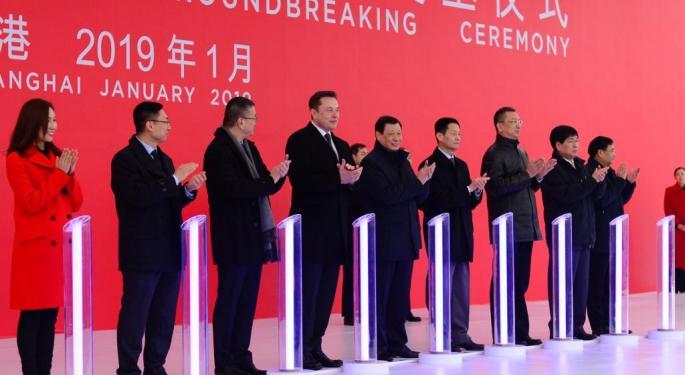 Tesla Confirms Shanghai Gigafactory Shutdown, But Says It's All 'According To Plan'