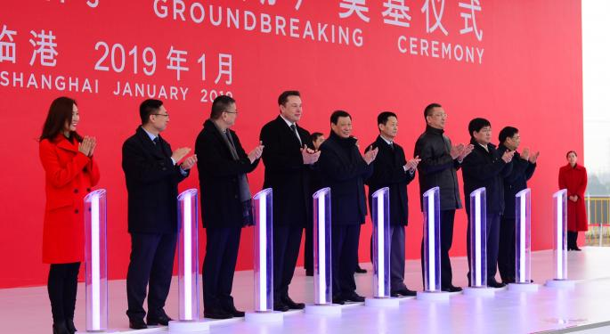 Gigafactory Shanghai Second Phase Nears Completion