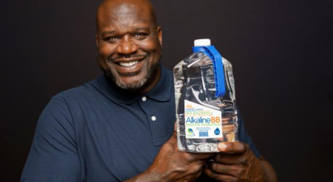 EXCLUSIVE: How Alkaline Water Signed Shaquille O'Neal As Brand Ambassador