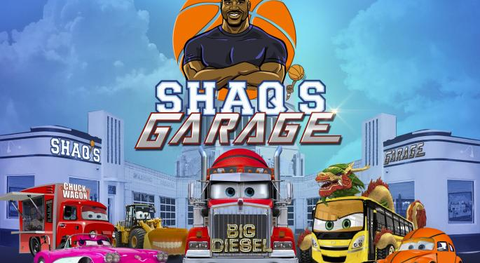 Shaq's Business Life Just Got A Lot Busier With New Cartoon Show
