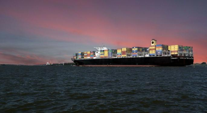 Falling Global Trade-To-GDP Ratio Worries Shipping Industry