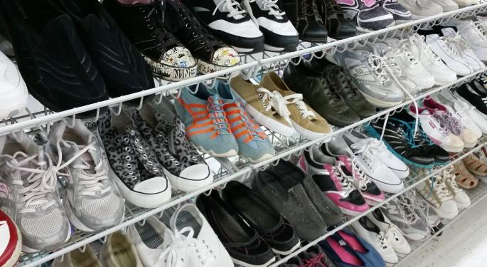 This Shoe Store Company Has A Better One-Year Return Than Amazon, Apple, Disney, Microsoft, Netflix, PayPal and Tesla