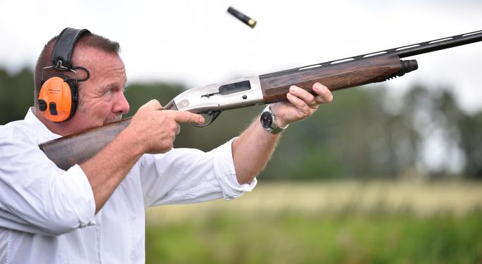 Gun Stocks Affected By Tough Year-Over-Year Comparisons