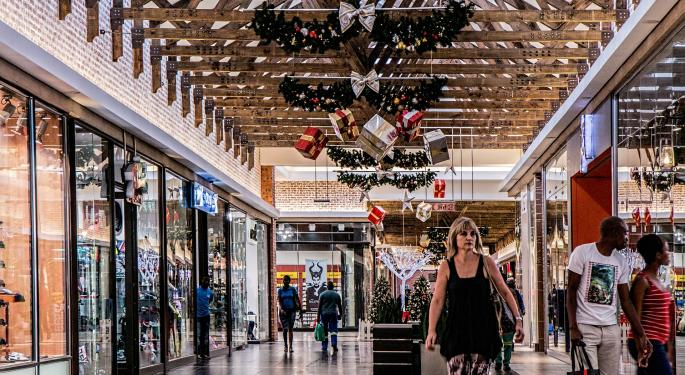 Weak Holiday Comp Sales Reports Drive Traditional Retail Stocks Down