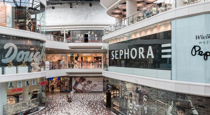Are Malls And Real Estate Owners In Trouble? The Bond Market Says 'Yes'