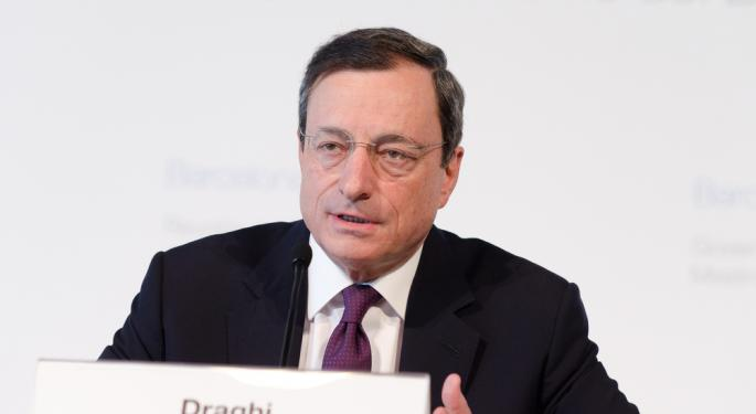 Draghi Downplays The Link Between Ukraine And Eurozone Ahead Of ECB Meeting