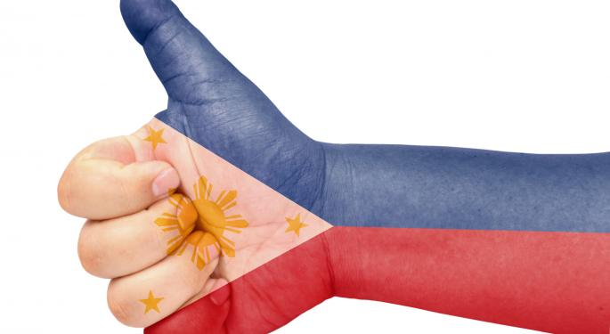 Philippines ETF Soars on First Investment-Grade Rating