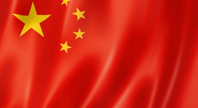 Tumbling Internet Shares Forcing One China ETF Lower