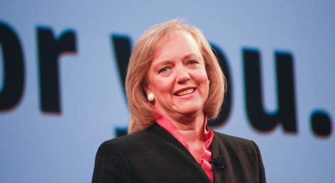 Hewlett-Packard CEO Meg Whitman Ready For 'New World' Of Tech