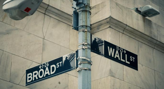 Have The Worries Returned To Broad and Wall?